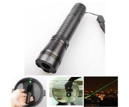 Pointeur Laser Vert Étanche Réglable