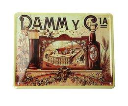 Tin Plate Avec DAMM CIA Imprimer
