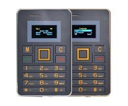 Téléphone Portable Carte De Crédit Format AEKU K5