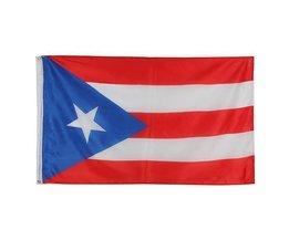 Drapeau Puerto Rico 150 X 90Cm