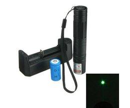 5 Mw Pen Laser Avec Rayon Vert