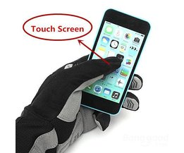 Antichoc Touchscreen Bike Glove