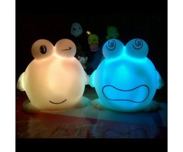Frog LED Night Light Sur Batterie