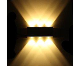 Applique LED Décorative Avec Lumière Blanche Chaude