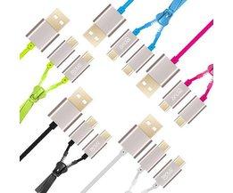 Câble USB LENUO Dual Micro