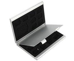Boîte De Rangement En Aluminium Pour Cartes SD
