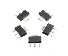 10 Pieces 5V 1A Voltage Regulator Chip