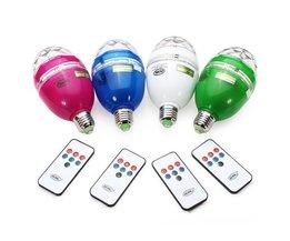 Rotation Lampe LED