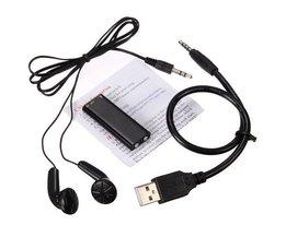 Dictaphone Avec Lecteur MP3
