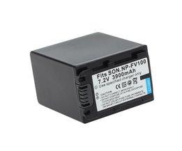 Fixer La Batterie SON.NP-FV100 7.2V 3900MAh Li-Ion Rechargeable