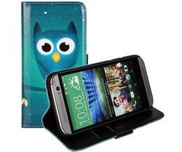Housse Flip Owl Pour HTC One M8