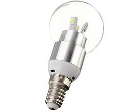 Spherical Poire Ampoule LED
