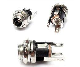 Métal DC Power Supply Jack Socket