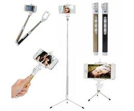 Dispho Bluetooth Selfie Stick Avec Trépied