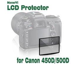 Protecteur D'Écran En Verre Pour Canon EOS 450D / 500D