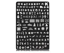 Nail Art -Template Pour Noël