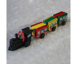 Wind-Up Toy Train