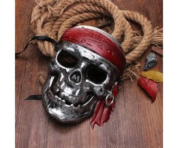 Pirates Of The Mask Skull Caribbean