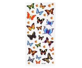 Tatouage Papillon Bâton