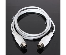 Câble MIDI Avec 5 Pôles Mâle Plugs