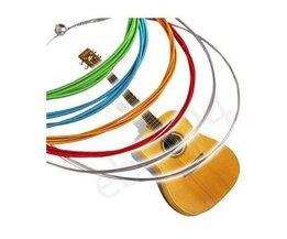 Colored Cordes De Guitare
