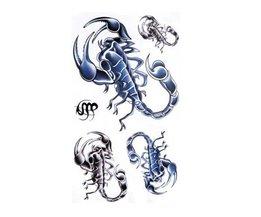 Scorpion Tattoo Bâton