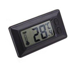 Thermomètre Numérique De Voiture