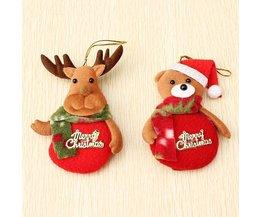 Décorations De Noël Animaux Hanger 2 Pieces