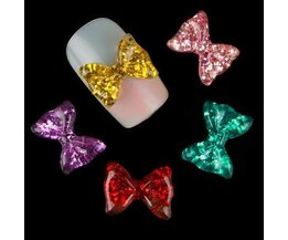 3D Bows Pour Nails 10 Pieces