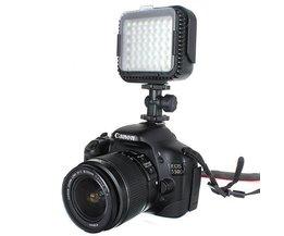 LED Vidéo Pour Canon Et Nikon