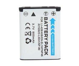 Batterie Li-Ion Pour Appareil Photo