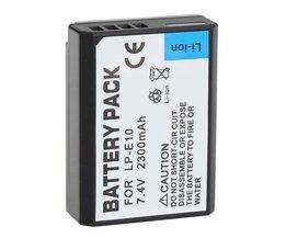 Batterie Pour Canon