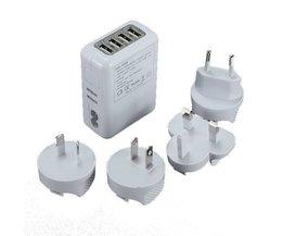 Plug Voyage Ports 4 USB