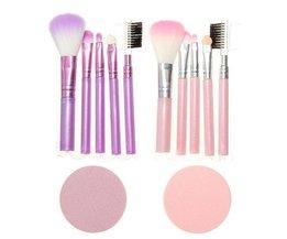 Make Up Brushes Set (6 Pièces)