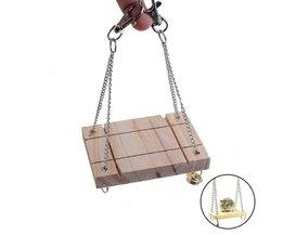 Toy Shelf Pour Hamsters Et Oiseaux