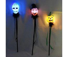 Bâton Léger Avec Halloween Theme