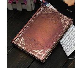 Vintage Golden Notebook