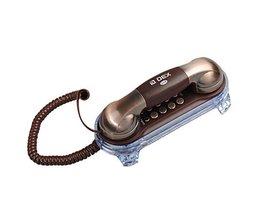 Retro Mur Téléphone