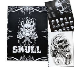 Book Tattoo Skulls Avec 76 Pages