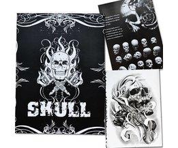 Book Tattoo Skulls Avec 76 Pages