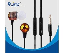 JTX JL520 Écouteurs Avec Microphone Mains Avec Super Bass Sound