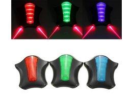 5 LED 2 Laser Arrière Vélo Électrique