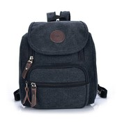 Canvas Backpack Avec Zippers
