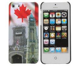 Case Pour IPhone 5 Avec Canada Conception