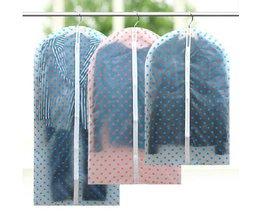 Sac De Vêtement Transparent Avec Stippels