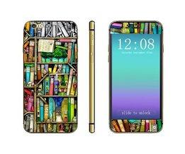 Autocollant 3D Avec Bookshelf Pour IPhone 6 Plus