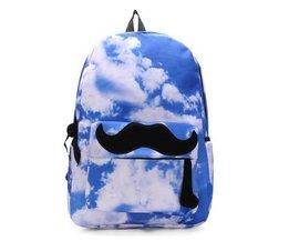 Sac À Dos École Mustache