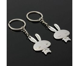 Lapin Keychain 1 Paire