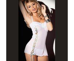 Lingerie White Dress