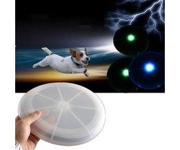 Frisbee Avec La Lumière